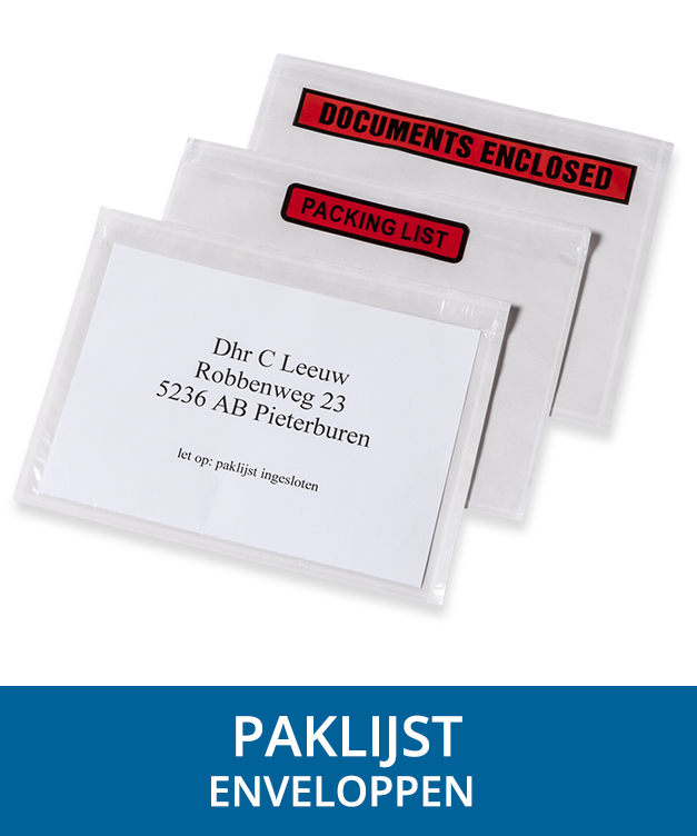 paklijst-enveloppen