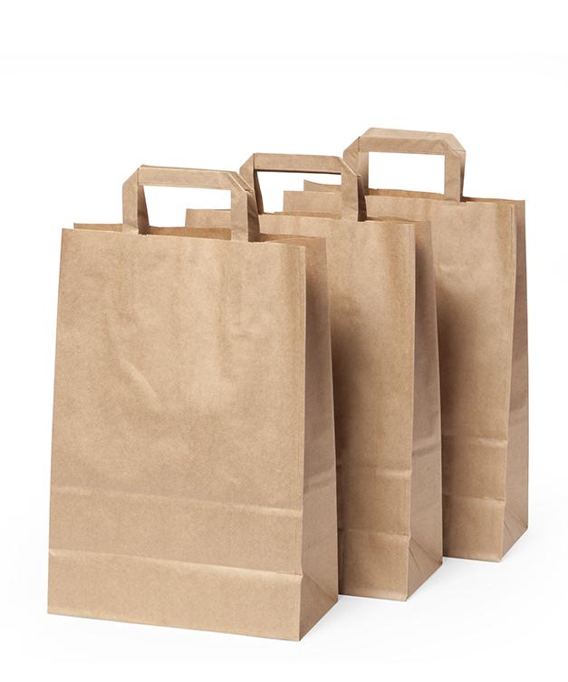 Bruine papieren tasjes 26cm breed moniss for Bruine papieren vensterzakjes