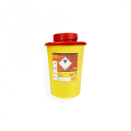 Safebox Naaldencontainer VITAL 2,2 ltr.  Geel