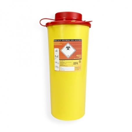 Safebox Naaldencontainer VITAL 3,5 ltr.  Geel